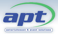 Apt Stage Hire Logo