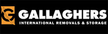 Gallagher's International Removals & Storage Logo