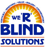 We R Blind Solutions Logo