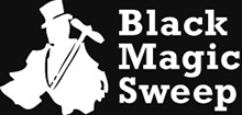 Black Magic Sweep Logo