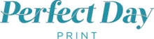 Perfect Day Print Wedding Stationery, Ballymena Company Logo