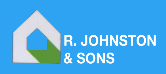R Johnston and Sons Building Contractors Logo