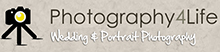 Photography4life Wedding & Portriat Photography Logo