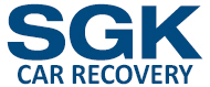 SGK Car Recovery, Dungannon Company Logo