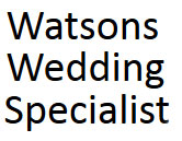 Watsons Wedding SpecialistLogo