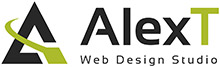 AlexT Web Design Logo