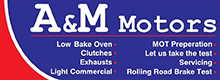 A&M Motors Belfast Logo
