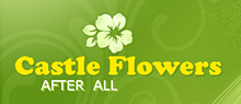 Castle Flowers Logo